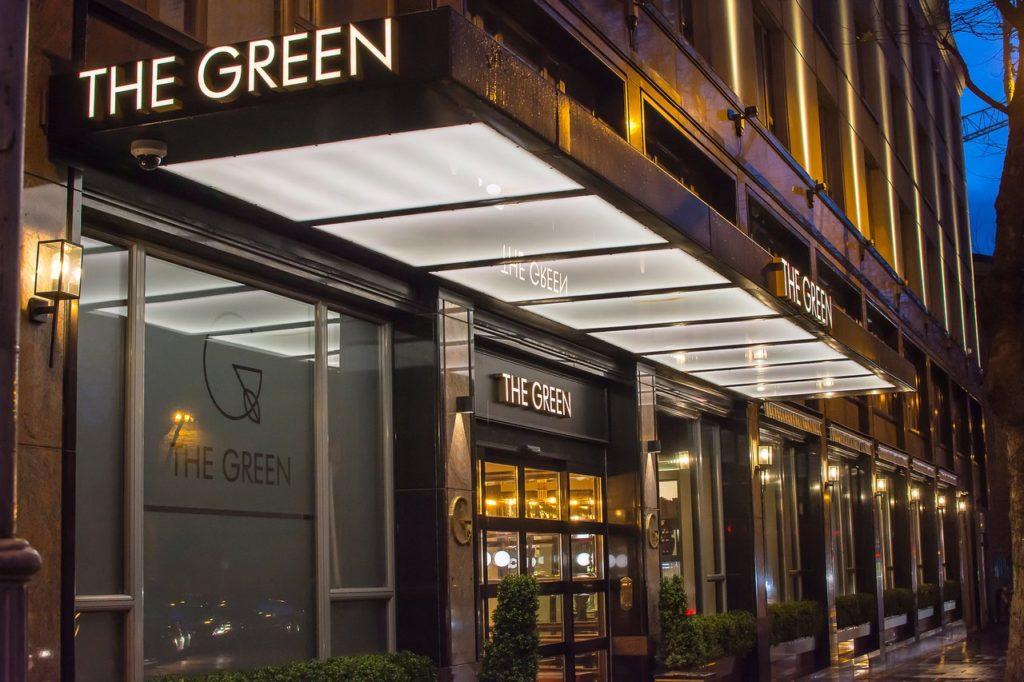 The Green Hotel, 1-5 Harcourt Street, Dublin 2