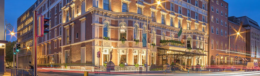 The Shelbourne Hotel: Venue for the LLLP 2020 gala dinner